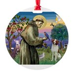St. Fran. / Brittany Round Ornament