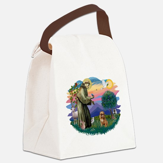 St Francis #2/ Brussels G Canvas Lunch Bag