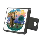 St Francis #2/ Cairn (br) Rectangular Hitch Cover