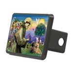 St. Francis Cairn Rectangular Hitch Cover