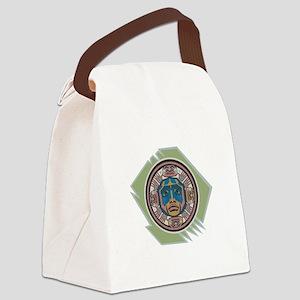indian spirit spymbol copy Canvas Lunch Bag