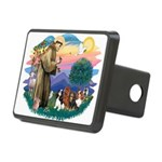 St Francis #2/ Cavaliers Rectangular Hitch Cover