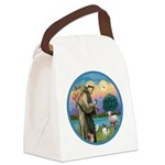 StFran./Chihuahua (LH) Canvas Lunch Bag