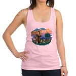 St.Francis #2/ C Crested #1 Racerback Tank Top