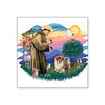 St Francis #2/ Chow (B) Square Sticker 3
