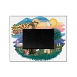 St.Francis #2/ Cocker (buff # Picture Frame