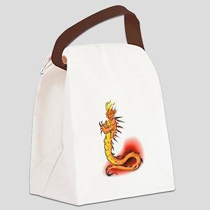 dragon demon copy Canvas Lunch Bag