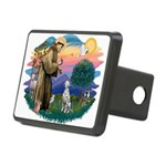 St Francis #2/ Dalmatian Rectangular Hitch Cover