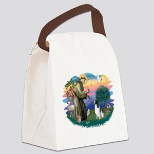 St Francis #2/ Eng Spring Canvas Lunch Bag