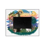 St Francis #2/ Eng Spring Picture Frame