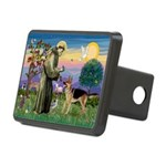 St Francis / G Shep Rectangular Hitch Cover