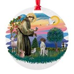 St.Francis #2/ GSHP Round Ornament
