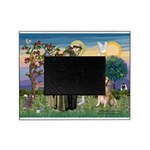 St Francis Golden Picture Frame
