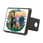 St.Francis #2/ Greyhound Rectangular Hitch Cover