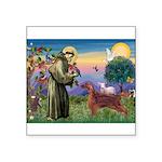 St. Fran./ Irish Setter Square Sticker 3