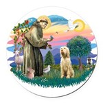 S, Fr, #2/ Italian Spinone Round Car Magnet