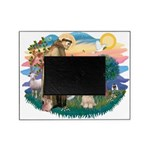 St.Francis #2/ Lhasa Apso (# Picture Frame