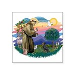 """St.Francis #2/ Manchester T Square Sticker 3"""""""
