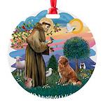 St.Francis #2/ Nova Scotia D Round Ornament