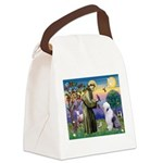 ST. FRANCIS + OES Canvas Lunch Bag