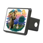 St Francis #2/ PBGV #4 Rectangular Hitch Cover