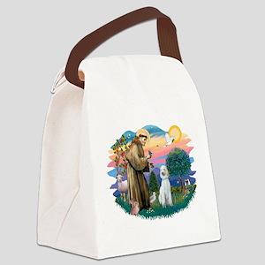 St.Francis #2/ Poodle (Std-Hv Canvas Lunch Bag
