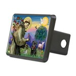 St Francis / Pug Rectangular Hitch Cover