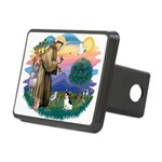 St.Francis #2/ Rat Terrier Rectangular Hitch Cover
