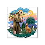 St Francis #2/ R Rback #2 Square Sticker 3