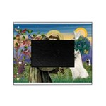 St Francis & Samoyed Picture Frame