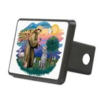 St Francis #2/ S Deer. #2 Rectangular Hitch Cover
