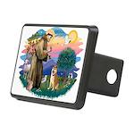 St Francis #2/ Shiba Inu Rectangular Hitch Cover