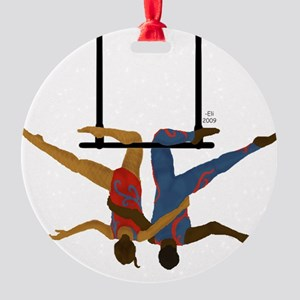 Pals hang together Round Ornament