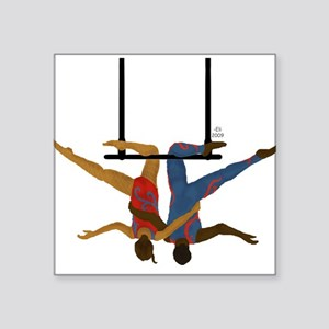 """Pals hang together Square Sticker 3"""" x 3"""""""