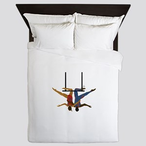 Pals hang together Queen Duvet