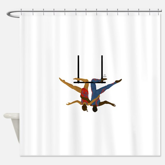 Pals hang together Shower Curtain