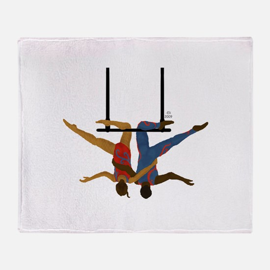 Pals hang together Throw Blanket