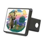 St Francis #2/ Silky (B) Rectangular Hitch Cover