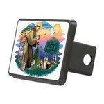 St.Francis #2/ Silkies (2) Rectangular Hitch Cover