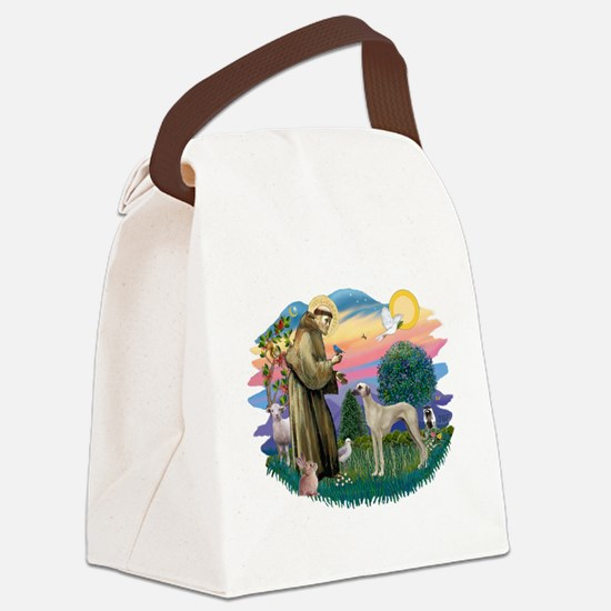St Francis #2/ Sloughi Canvas Lunch Bag