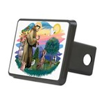 St.Francis #2 / Weimaraner Rectangular Hitch Cover