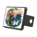 St.Francis #2/ Westies (2) Rectangular Hitch Cover