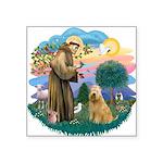 St Francis #2/ Wheaten #2 Square Sticker 3