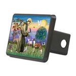 St Francis / Whippet Rectangular Hitch Cover