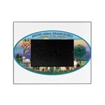 St Francis / dogs-cats Picture Frame