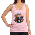 St. Fran (ff) - 3 Persian Cat Racerback Tank Top