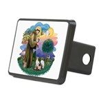 St. Fran (ff) - 3 Siamese Rectangular Hitch Cover
