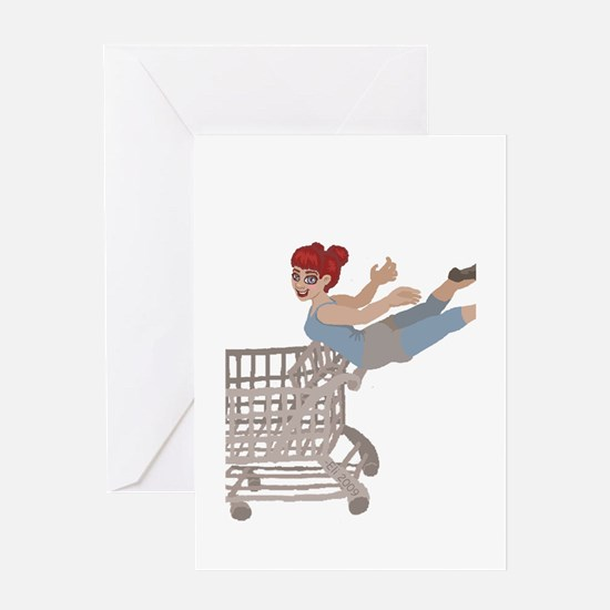 not just for shopping Greeting Card
