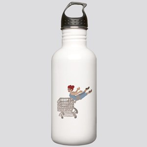 not just for shopping Stainless Water Bottle 1.0L