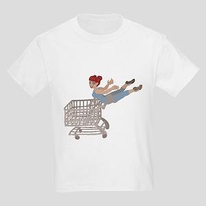 not just for shopping Kids Light T-Shirt